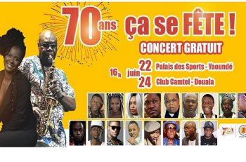 70 ans des brasseries du cameroun.