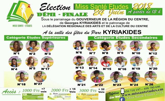 Miss sante Etude 2018