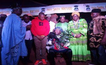 Elvis Kemayo Intronisé comme Notable par le Chef Bangangte.