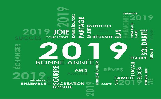 Camershowbiz.com - Meilleurs vœux pour 2019.