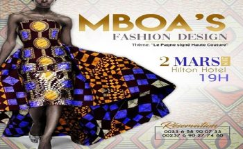 La 1ère édition du Mboa's Fashion Design, ce 02 mars 2019 au Hilton Hôtel de Yaoundé.