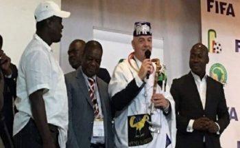 Gianni Infantino intronisé Dah Finagnon Houétchénou au Bénin