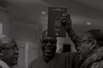Manu Dibango - un « prix d'exception- lors du gala d'excellence 2019.