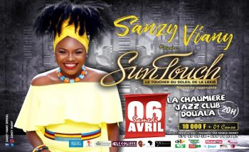 Sanzy Viany en mode spectacle ''Sun Touch'' a Douala.