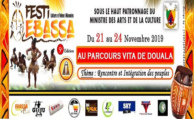 Le Festi Ebassa, du 21 au 24 Novembre 2019 à Douala.