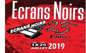 Ecrans Noirs 2019, 23eme édition se déroule du 13 au 20 Juillet 2019 à Yaoundé.