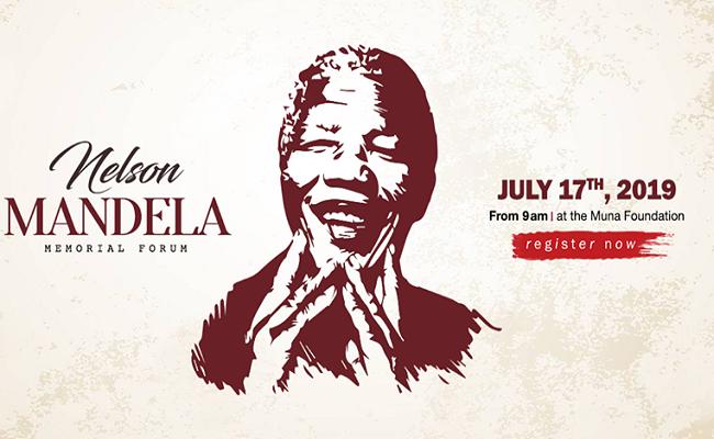 Forum Commémoratif Nelson Mandela 2019 le 17 Juillet 2019 à Yaoundé.
