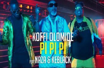 Koffi Olomidé dévoile « Pi Pi Pi », son duo avec Naza et KeBlack.