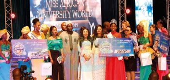 African Miss University of the world 2019: la couronne au Kenya.