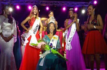 Serafina Nchama Eyene Ada, couronnée Miss Guinée Equatoriale 2019.