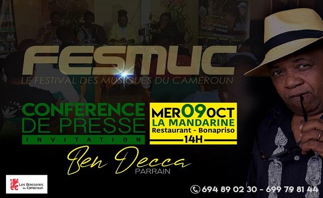 FESMUC 2019 - INVITATION CONFERENCE DE PRESSE A DOUALA.