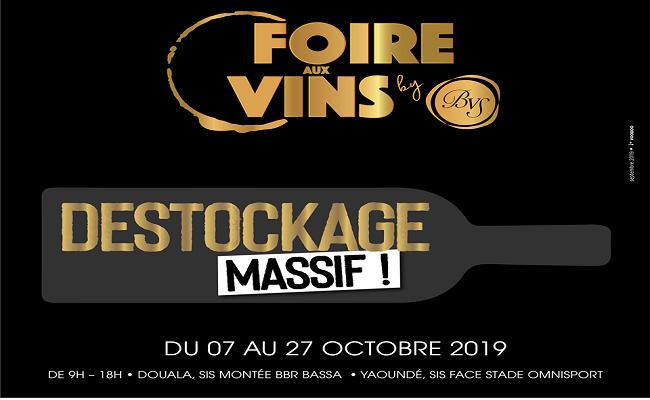 Foire aux Vins 2019, du 07 au 27 Octobre 2019.
