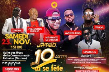 10 ans de Jambo : c'est maintenant le tour de la ville de Maroua.