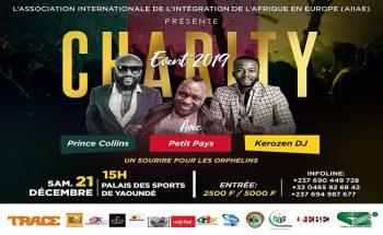 Charity Events 2019, le 21 décembre 2019 au palais des sports de Yaoundé.