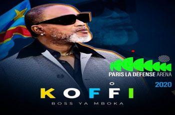 Koffi Olomide annonce le concert de sa carrière en 2020 à Paris.