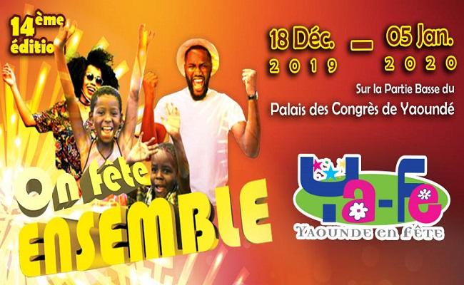 Ya-Fé (Yaoundé en fête), c'est du 18 décembre 2019 au 05 janvier 2020.