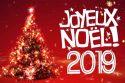 Vœux Joyeux Noël 2019