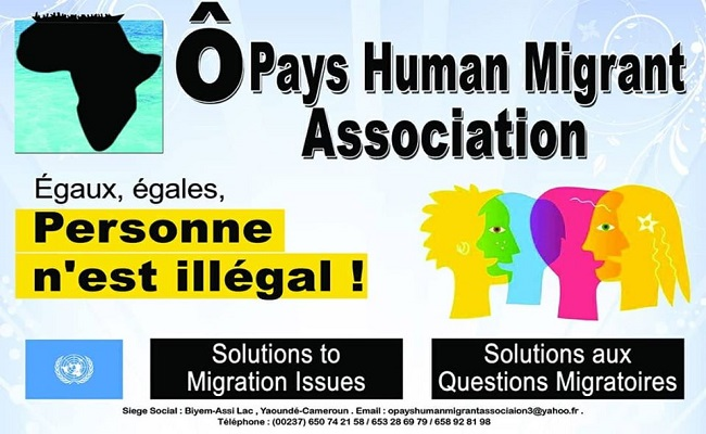 Ô Pays Human Migrant Association, la vraie solution aux questions migratoire.