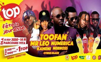 Le groupe Toofan annonce en concert le 11 Février 2020 à Douala.