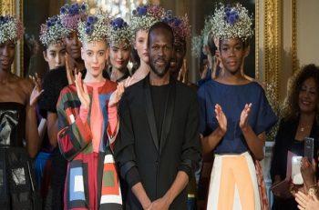 Haute couture : la consécration du styliste camerounais Imane Ayissi.