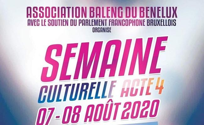 Semaine culturelle des Baleng du Benelux, Acte 4 2020.