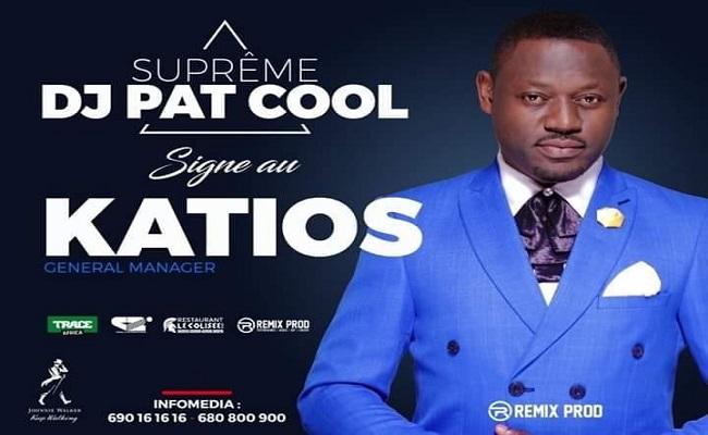 Deejay Pat Cool, le nouveau Manager Général du Katios Night Club New Look.