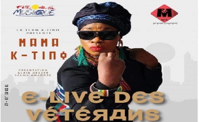 Fête de la Musique 2020 : la Mama K-Tino sera sur scène pour un E-Concert ce 21 Juin.