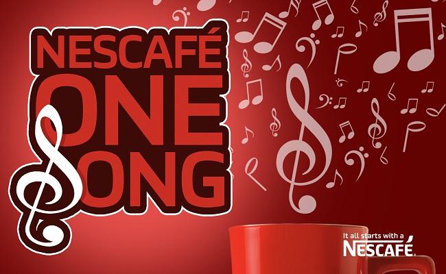 Nescafé lance un concours de chant.